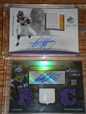Adrian Peterson signed cards